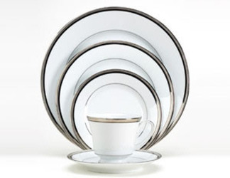 Noritake Renwick Platinum 4320 5 Piece Place Setting Sale from Clark Flower and Gift Shop in Clark, SD
