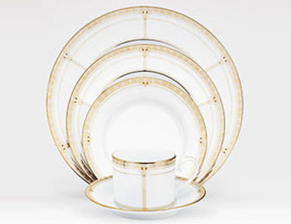 Noritake Palmer Gold 4350 5 Piece Place Setting Sale from Clark Flower and Gift Shop in Clark, SD