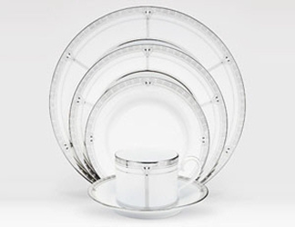 Noritake Palmer Platinum 4351 5 Piece Place Setting Sale from Clark Flower and Gift Shop in Clark, SD