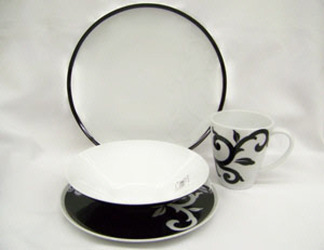 Noritake Kismet Black 4366 China Dinnerware Sale from Clark Flower and Gift Shop in Clark, SD