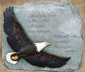 Eagle Plaque from Clark Flower and Gift Shop in Clark, SD