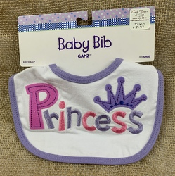 Baby Bib Princess from Clark Flower and Gift Shop in Clark, SD