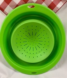 5 Qt Collapsible Colander from Clark Flower and Gift Shop in Clark, SD