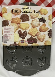 Farm Cookie Pan from Clark Flower and Gift Shop in Clark, SD