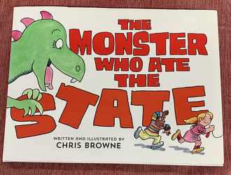 The Monster Who Ate the State by Chris Browne from Clark Flower and Gift Shop in Clark, SD