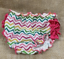 Chevron Baby Bloomers from Clark Flower and Gift Shop in Clark, SD