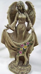 Standing Angel from Clark Flower and Gift Shop in Clark, SD