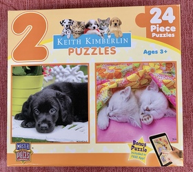 2 Keith Kimberlin Puzzles 24 Pc from Clark Flower and Gift Shop in Clark, SD