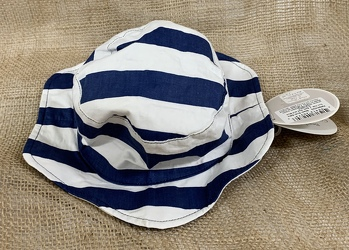 Beach Buds Baby Sun Hat Blue Stripe from Clark Flower and Gift Shop in Clark, SD