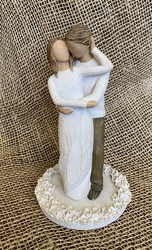 Together Cake Topper by Willow Tree 27162 from Clark Flower and Gift Shop in Clark, SD