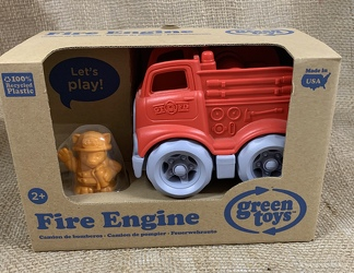 Green Toys Fire Engine from Clark Flower and Gift Shop in Clark, SD