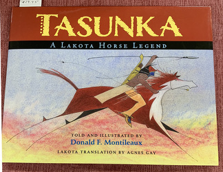 Tasunka by Donald F. Montileaux from Clark Flower and Gift Shop in Clark, SD