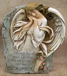 Angel Memorial Stone from Clark Flower and Gift Shop in Clark, SD