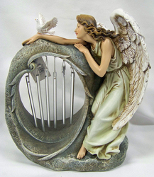 Angel With Chimes from Clark Flower and Gift Shop in Clark, SD