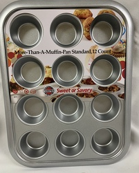 Norpro More Than a Muffin Pan Standard, 12 Count from Clark Flower and Gift Shop in Clark, SD