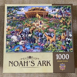 Noah's Ark Jigsaw Puzzle 1000 pc from Clark Flower and Gift Shop in Clark, SD