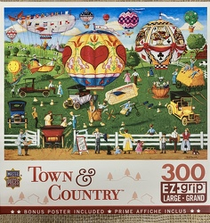Flights of Fancy EZGrip Puzzle 300 pc from Clark Flower and Gift Shop in Clark, SD