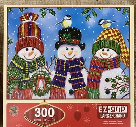 Snowy Afternoon Friends EZgrip Puzzle 300 pc from Clark Flower and Gift Shop in Clark, SD