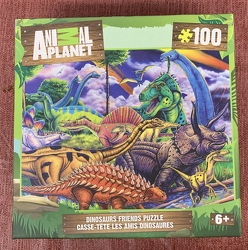 Dinosaurs Friends Puzzle 100 pc from Clark Flower and Gift Shop in Clark, SD