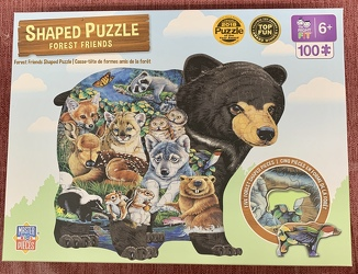 Forest Friends Shaped Puzzle 100 pc from Clark Flower and Gift Shop in Clark, SD