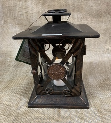 Small Metal Lantern from Clark Flower and Gift Shop in Clark, SD
