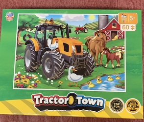 Tractor Town Puzzle 60 pc from Clark Flower and Gift Shop in Clark, SD