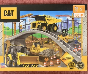 Caterpillar Inc Puzzle 60 pc from Clark Flower and Gift Shop in Clark, SD