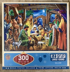 Away In A Manger EZgrip Puzzle 300 pc from Clark Flower and Gift Shop in Clark, SD