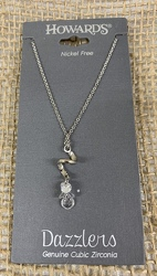 CurlyQ Grape Cluster Dazzler Necklace Silver from Clark Flower and Gift Shop in Clark, SD