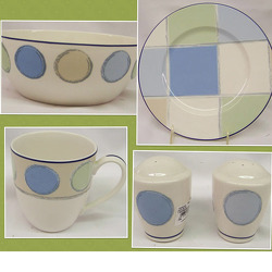 Noritake Java Blue 7994 Porcelain Dinnerware Sale from Clark Flower and Gift Shop in Clark, SD