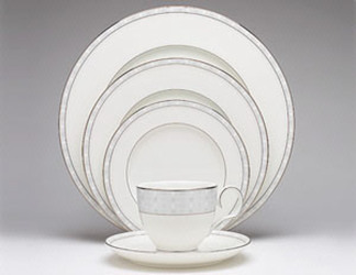 Noritake Aria Platinum 7995 Fine China Dinnerware Sale from Clark Flower and Gift Shop in Clark, SD
