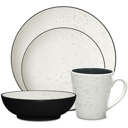Colorwave Graphite 8034 Bloom Coupe Stoneware by Noritake from Clark Flower and Gift Shop in Clark, SD