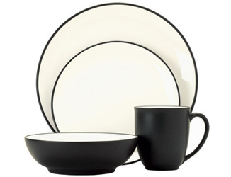 Colorwave Graphite 8034 Coupe Stoneware by Noritake from Clark Flower and Gift Shop in Clark, SD