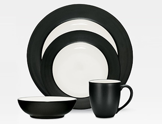 Colorwave Graphite 8034 Rim Stoneware by Noritake from Clark Flower and Gift Shop in Clark, SD