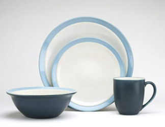 Noritake Kona Indigo 8050 4 Piece Place Setting Sale from Clark Flower and Gift Shop in Clark, SD