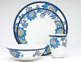 Noritake Blue Isle 9333 4 Piece Place Setting Sale from Clark Flower and Gift Shop in Clark, SD