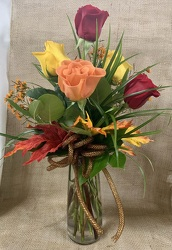 Autumn Roses from Clark Flower and Gift Shop in Clark, SD