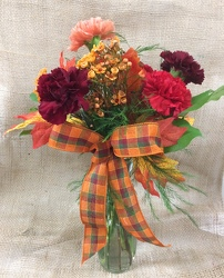Fall Carnations from Clark Flower and Gift Shop in Clark, SD
