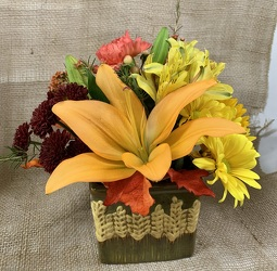 Harvest Blooms from Clark Flower and Gift Shop in Clark, SD