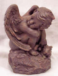 Angel Statue from Clark Flower and Gift Shop in Clark, SD
