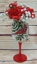 Mistletoe & Wine from Clark Flower and Gift Shop in Clark, SD