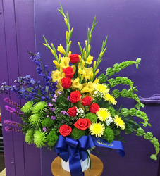 Bright Blooms from Clark Flower and Gift Shop in Clark, SD