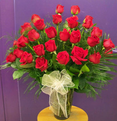 Red Rose Bouquet from Clark Flower and Gift Shop in Clark, SD
