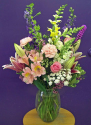 Pastel Mix of Blooms from Clark Flower and Gift Shop in Clark, SD