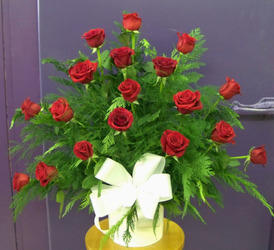 Traditional Red Roses from Clark Flower and Gift Shop in Clark, SD