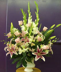 Traditional Lilies, Gladioli, & More from Clark Flower and Gift Shop in Clark, SD