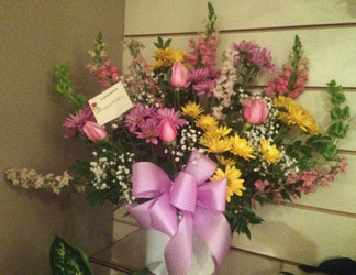 Pastel Traditional Bouquet from Clark Flower and Gift Shop in Clark, SD
