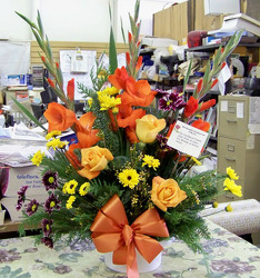 Sympathy Mix from Clark Flower and Gift Shop in Clark, SD
