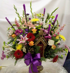 Large Mix of Blooms from Clark Flower and Gift Shop in Clark, SD