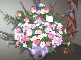 Pink, Purple, & White Mix from Clark Flower and Gift Shop in Clark, SD